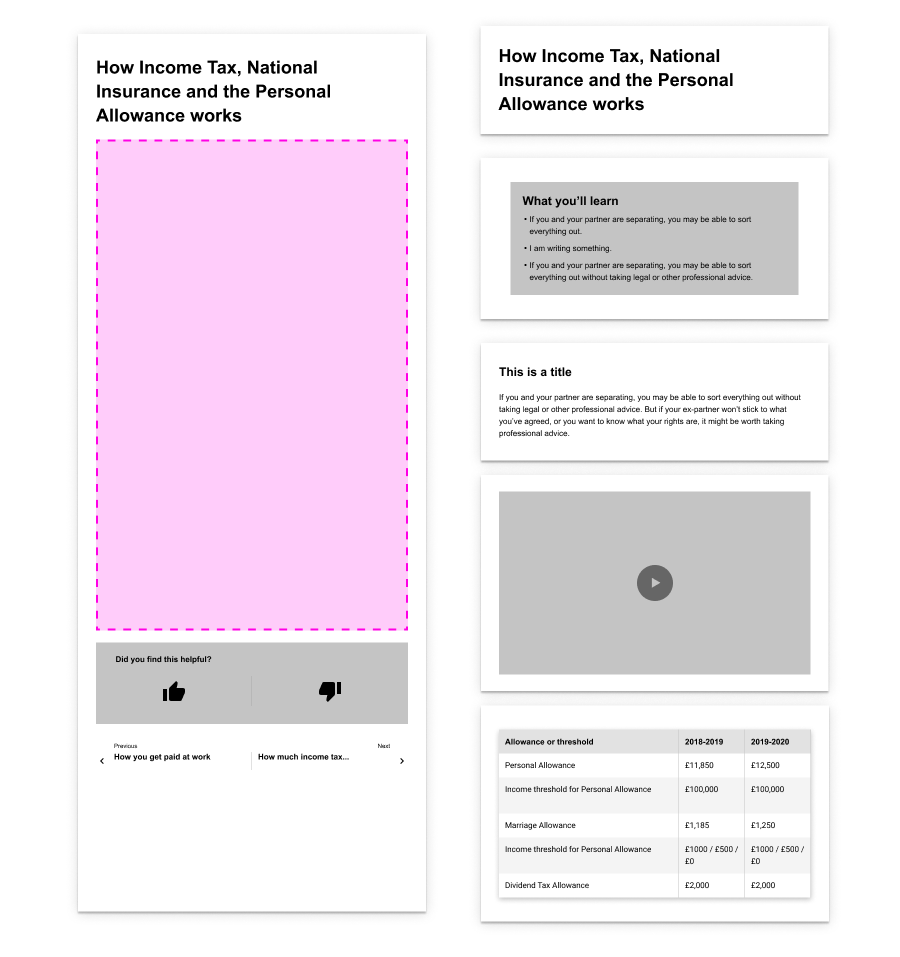 03A_Content Wireframe